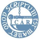 ICAR Logo bleu